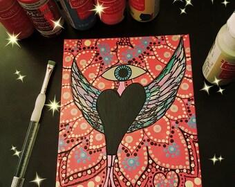 Love Angel Eye Painting *SALE*