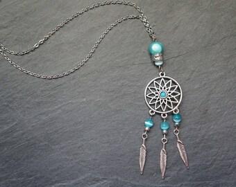 Necklace turquoise Dreamcatcher - Belinda