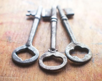 Odds and Ends Antique Skeleton Key Trio