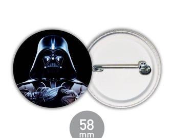 Badge Star Wars - Darth Vader 58mm