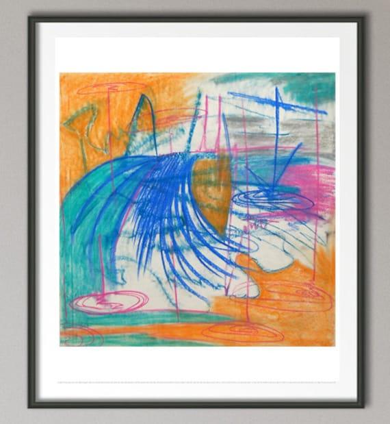 "Drawing - ""Landscape #3"""