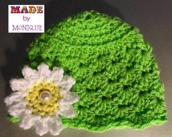 Vintage Inspired Preemie hat