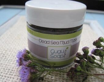 Dead Sea Mud Mask - Natural Face Mask - Facial Scrub - Anti aging - Mud Mask - Clay Mask