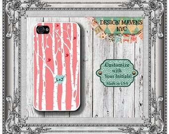 Love Birds iPhone Case, Valentines Phone Case, Personalized iPhone Case, iPhone 4, 4s, iPhone 5, 5s, 5c, iPhone 6, 6s, 6 Plus, Phone Case