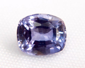 Natural Lavender Sapphire | Cushion Cut | Loose Sapphire | Untreated | Unheated | Unset | High Clarity