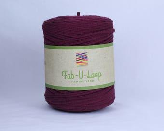 "T-Shirt Yarn - ""Winery""  ~160 yards, 130 m"