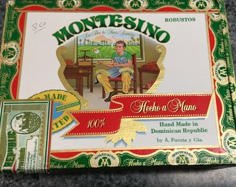 Montesino Cigar Box