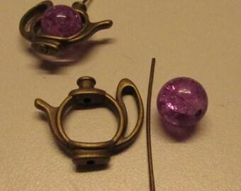 D-02126 - 1 Set Teapot Pendant