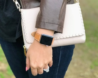 Leather Apple Watch Band 38mm Woman, Brown Apple Watch Band 42mm Men, Apple Watch Leather, Tan Apple Watch Strap, iWatch Band, iWatch Strap
