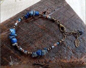 Lapis Stone Bracelet *SH