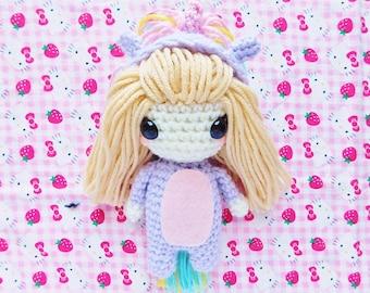 Unicorn Kigurumi Doll
