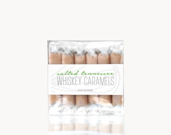 Salted Tennessee Whiskey Caramels