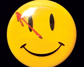 Watchmen The Comedian Button, Magnet or Sticker