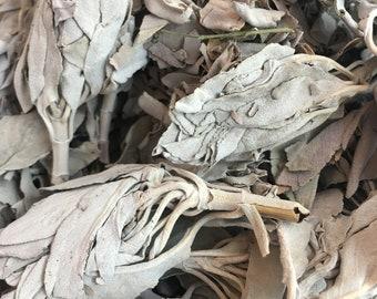Loose California White Sage Smudge Leaves smudging herbal 8 oz (1/2lb)