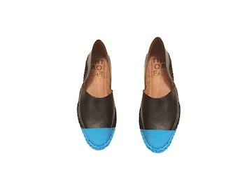 Caab- Custom leather flats,leather slip-ons