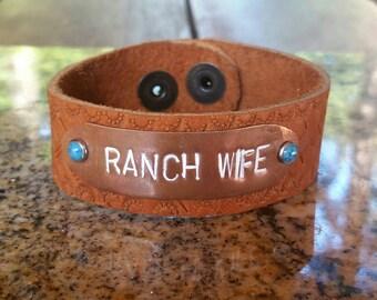 Ranch Wife bracelet