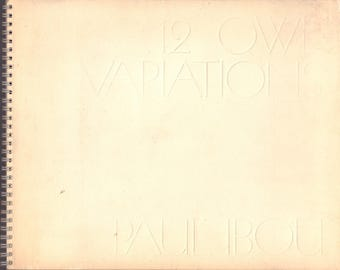 IBOU, Paul.  12 Owl Variations.