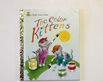A Little Golden Book: The Color Kittens (1995)