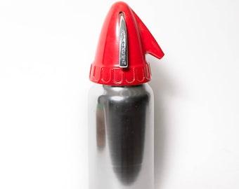 Seltzer Bottle Sparklet Devices Mid Century Bartending 1950s Stainless Steel Soda Maker