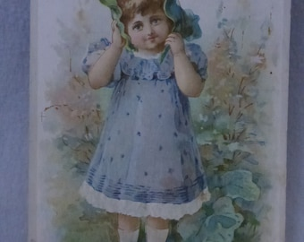 Antique Ephemera Victorian Picture Card from Lion Coffee