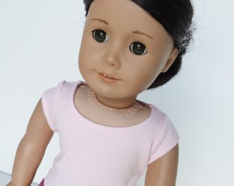 18 Inch Doll Clothes -- Cap Sleeve T-Shirt -- 1 Piece (5-17)