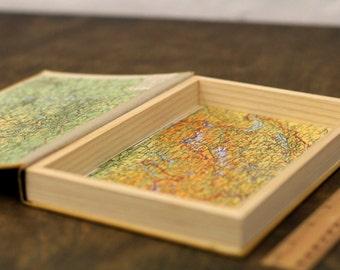 "Hollow Book Treasure Box Sherlock ""Lost"", Secret Hideout"