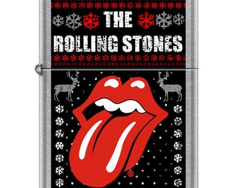Hard to Find Rolling Stones Christmas Winter  Zippo Lighter