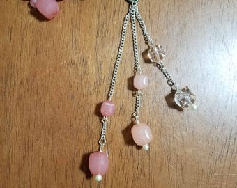 Pink Ombre  Purse Charm