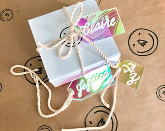 Iridescent Gift Tag (2 Sizes)