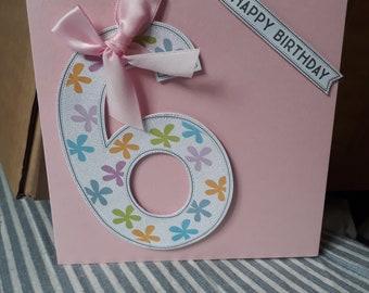 Pretty in pink 6th Birthday