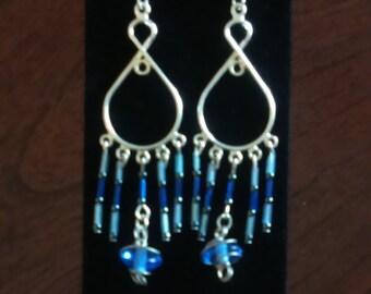 Dew Drop Chandelier Earrings
