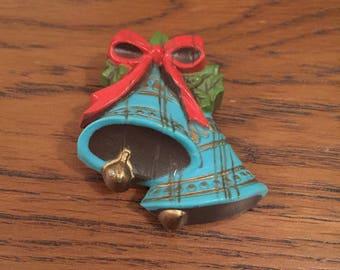 Bells vintage brooch