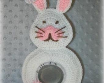 Easter Bunny Lens Buddy Crochet Pattern