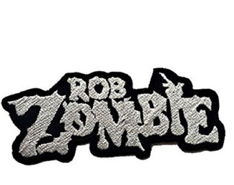 ROB ZOMBIE Heavy Metal Iron On Embroidered Patch