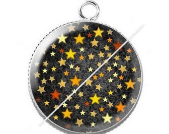 Cabochon resin cameo fairy star 6