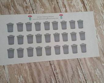 Trash Can Stickers