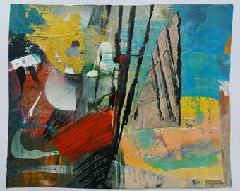 Mini Mixed Media paintings