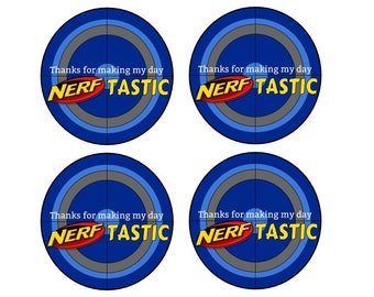 Blue Nerf Party Favors