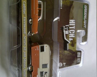 1955 Cadillac With Shasta Trailer new in blister