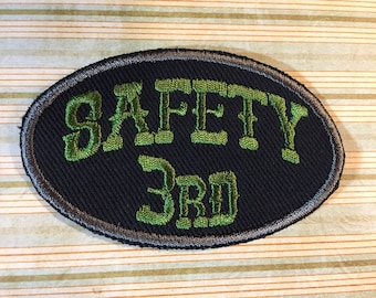 PATCH Safety 3rd - Custom Color