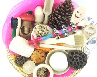 Montessori Treasure Basket-  Learning Resource.