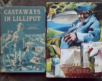 Gulliver's Travels by Jonathan Swift and Cataways in Lilliput by Henry Winterfeld