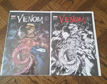 Venom #6 Mark Bagley Cover Variant Lot.