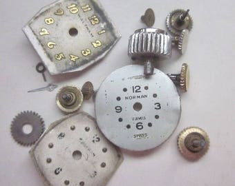 Wrist Watch Faces and Watch Stems  PatriciaInExcess S 471