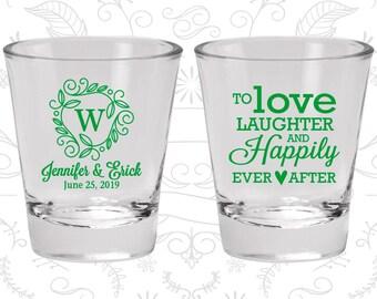Wedding Shot Glasses, Shot Glasses, Shot Glass, Wedding Favors, Custom Shot Glasses, Personalized Shot Glasses, Custom Shot Glass (C61)