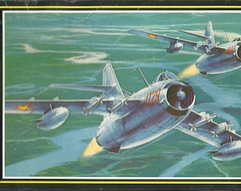 Model airplane MiG-17 Fighter Jet 1/72 scale kit Soviet Air Force Russian Military USSR  aircraft aviation Hasegawa Cold War