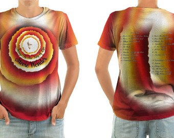 STEVIE WONDER Songs in the Key of Life shirt all sizes