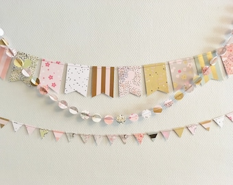Small Garland flags Daisy
