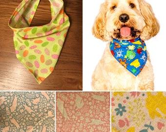 Easter Dog Bandana - multiple patterns