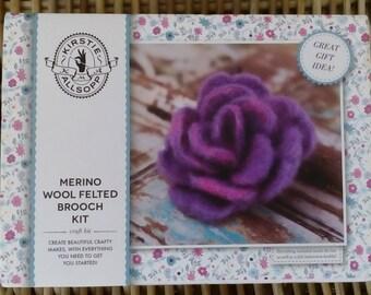 Kirsty Allsopp Felted Merino Wool Brooch Kit